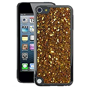 A-type Arte & diseño plástico duro Fundas Cover Cubre Hard Case Cover para Apple iPod Touch 5 (Glitter Sparkly Pattern Bling)