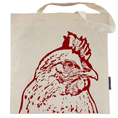 Rachel the Chicken Tote Bag by Pet Studio Art (Chicken Bag)