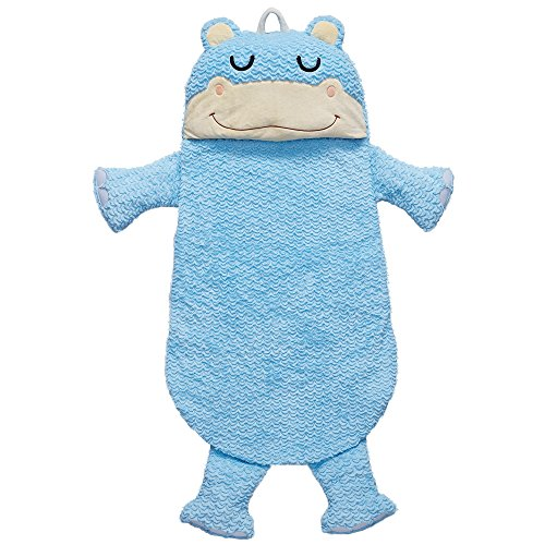 Fantasy Fields Plush Sleeping Bag Hippo | Portable Slumber Bag | Great for Nap Time by Fantasy Fields