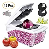 Collupsa Onion Chopper Pro Mandoline Slicer Dicer 13 in 1...