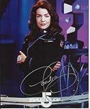 Claudia Christian Babylon 5 hand-signed 8 x 10 photo C of A #1
