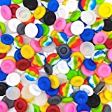 40 Pcs Colorful Silicone Accessories Replacement