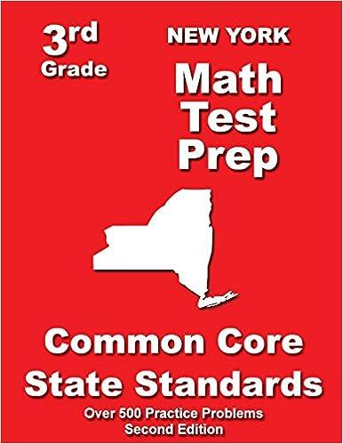 New York 3rd Grade Math Test Prep Common Core State Standards