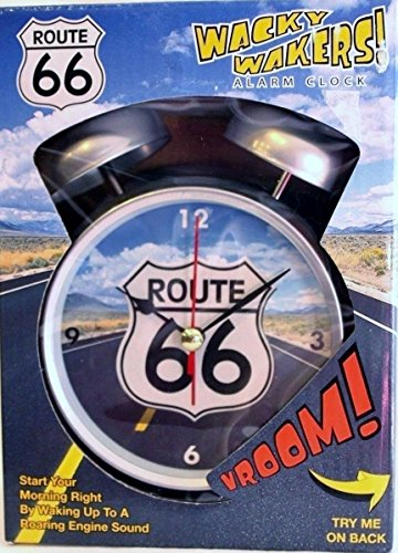 Wacky Wakers Route 66 Alarm Clock