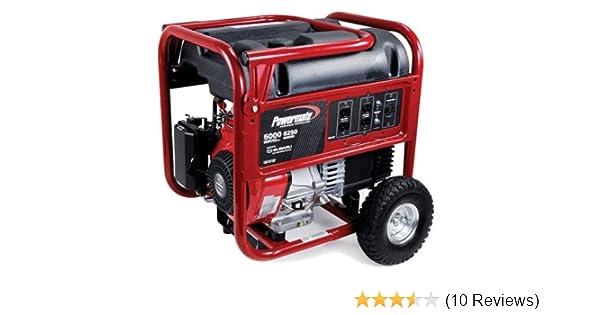 Amazon com : Powermate PM0435001 6, 250 Watt 287cc 10 HP