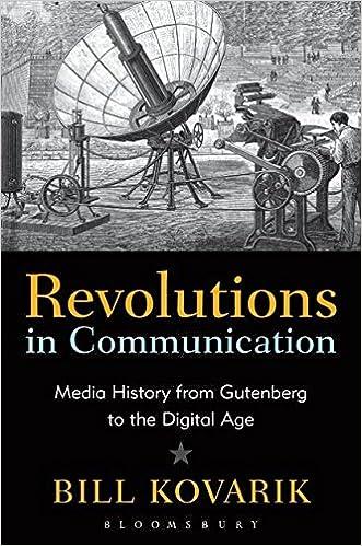 Revolutions in Communication: Media History from Gutenberg to ...