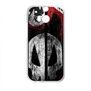 Creative Skull graffitti Cell Phone Case for HTC One M8