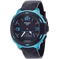 Tissot T-Race Touch Aluminium Black Dial Black Silicon Strap Mens Sports Quartz Watch T0814209705704