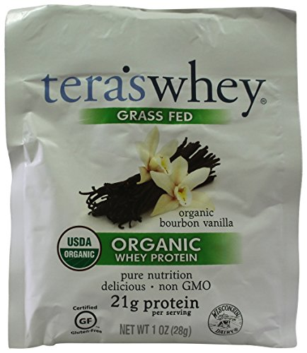 Tera's Whey - Organic Whey Protein Packet Bourbon Vanilla - 1 (Sweet Dairy Whey)