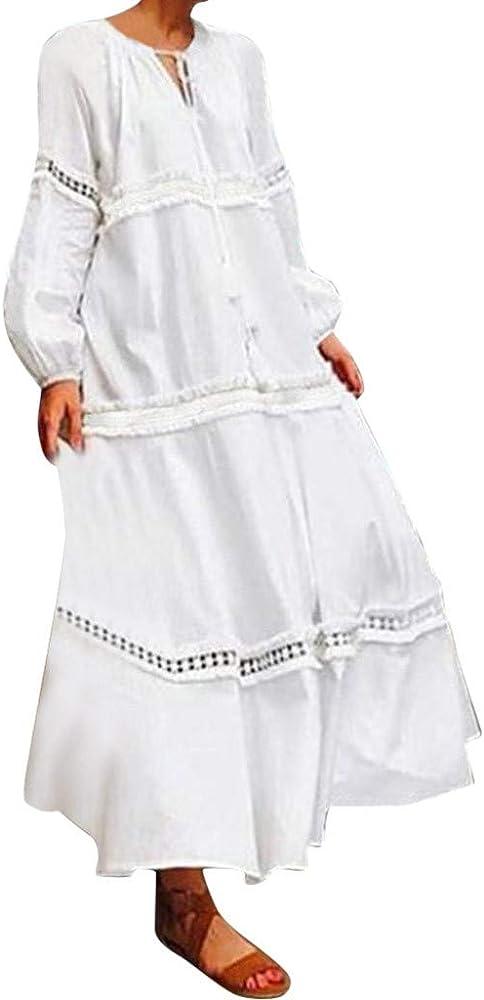 Vestidos Casual para Mujer Largos Talla Grande M-5xl, Estilo ...