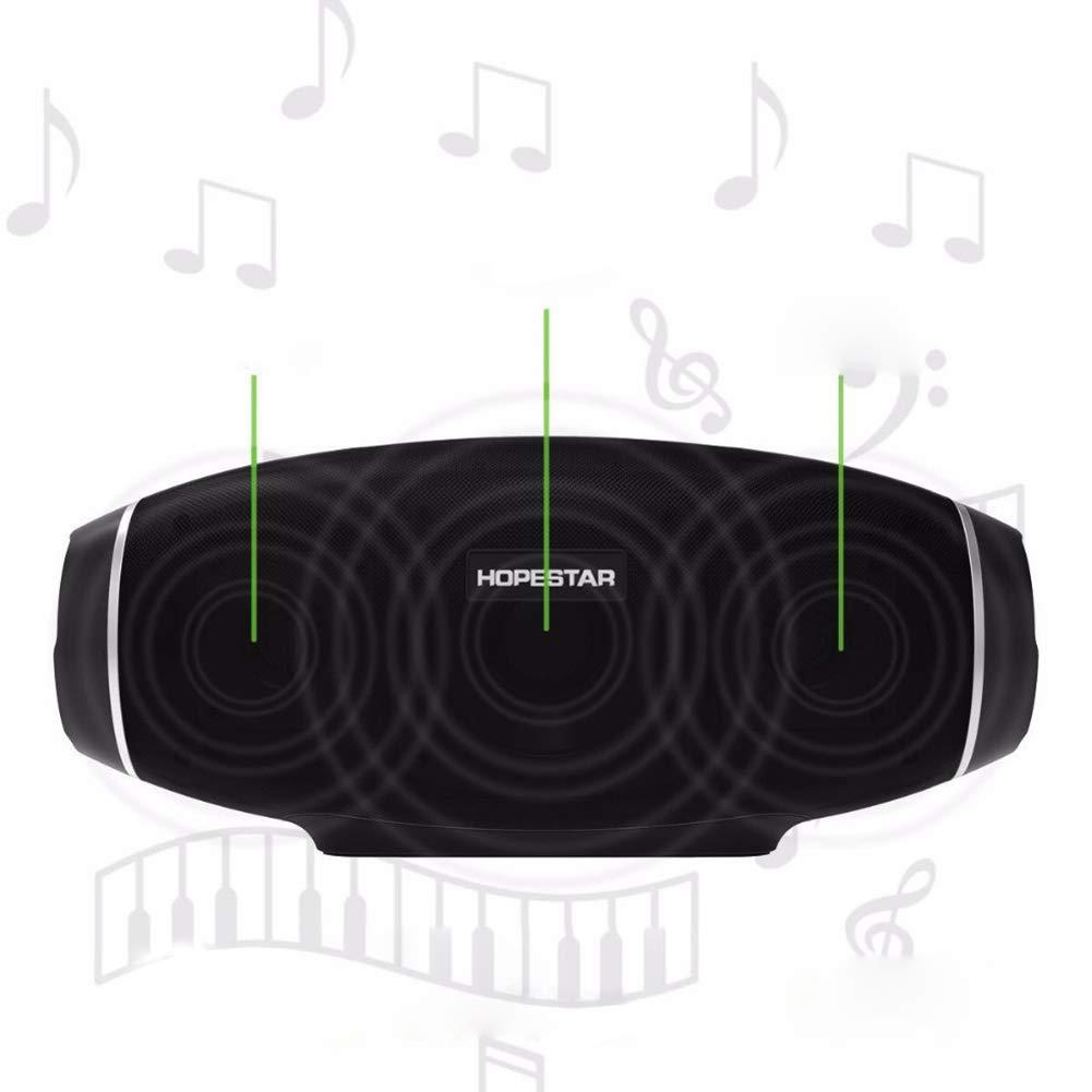 NimbleMinLki - Altavoz estéreo inalámbrico con Bluetooth, diseño ...