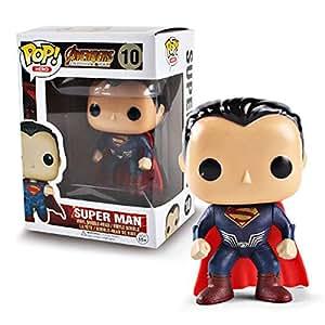 Mini Toys Infinity War Avengers figure Set Superman Collectible Model Doll figure 10cm