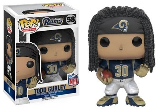 Funko POP NFL: Wave 3 - Todd Gurley Action - Pop Football