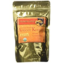 Hunza Gold Certified Organic Bitter Apricot Kernels – ½ LB
