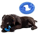MushroomCat Pet Dog Products Arctic Freeze Chew Toy Cooling Teether Dog Toy 2 Pack (Doughnut)
