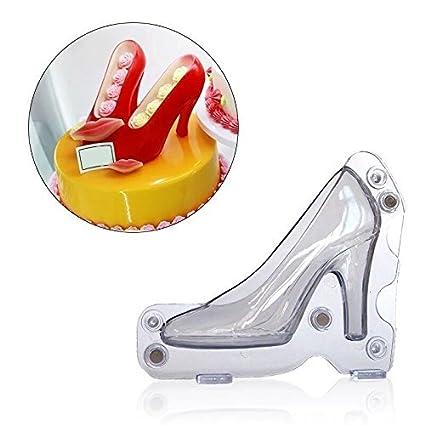 3D High Heel Shoe Chocolate Candy Mould Bundle Molding Fondant Cake Mold  Decorating DIY Home Baking
