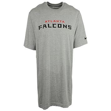 Nike Atlanta Falcons fútbol Gris NFL Camiseta (pequeño)
