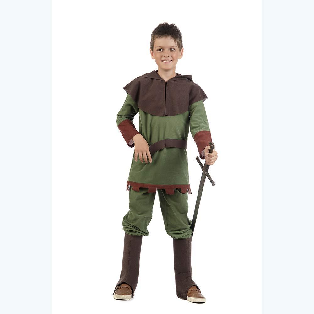 Disfraz de Príncipe del Bosque para niño: Amazon.es: Juguetes y juegos