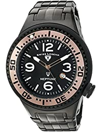 Mens Neptune Force Swiss Quartz Stainless Steel Casual Watch (Model: 21819P-