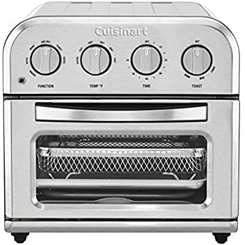 Cuisinart TOA-28 Compact AirFryer Toaster Oven Air Fryer, 12.5