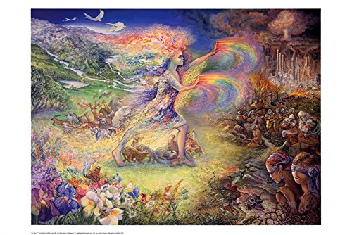 Josephine Wall (No More) Art Poster Print - 24x36 Poster Print by Josephine Wall, 36x24