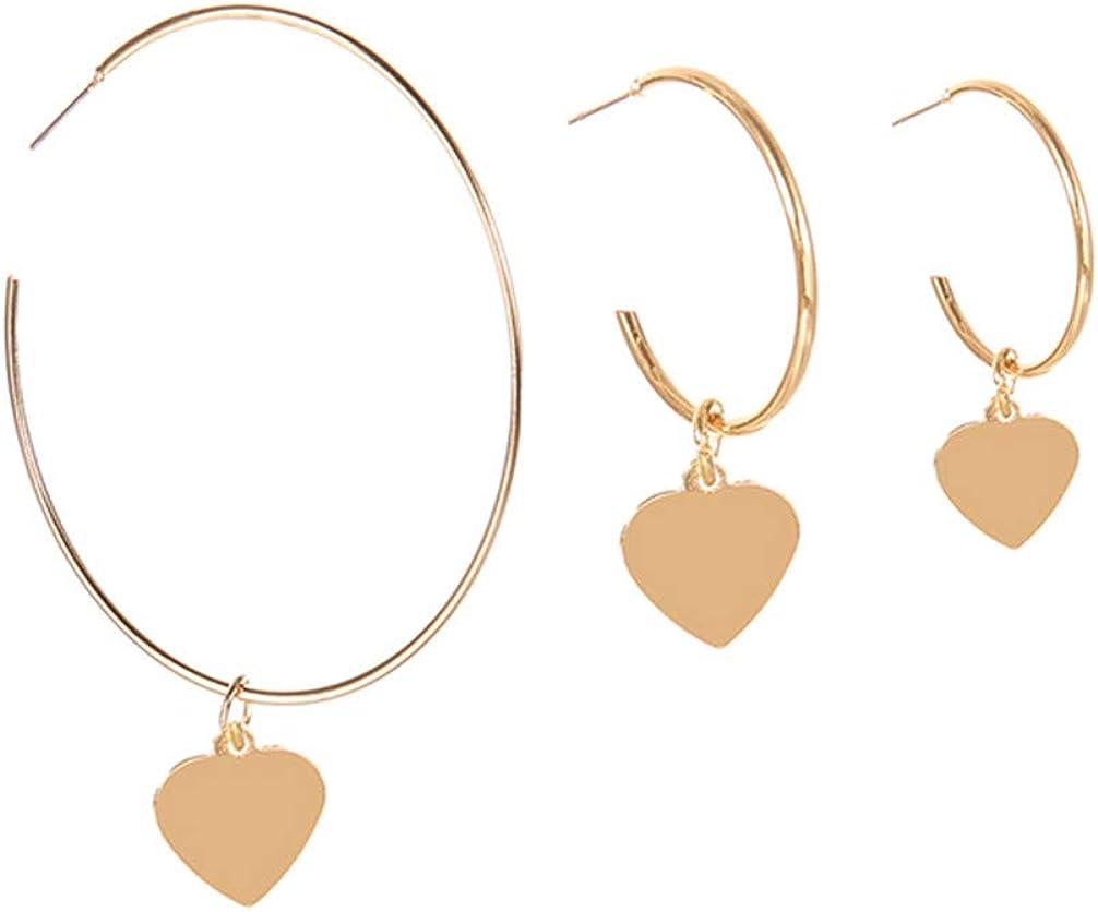 Toporchid Irregular Geometric Leaves Pendant Dangle Earrings Women Jewelry Gold Color