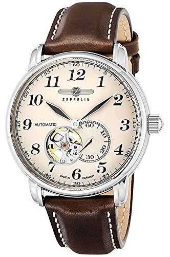 ZEPPELIN watch LZ126 LosAngeles ivory dial 7666-5 Men's parallel import goods]