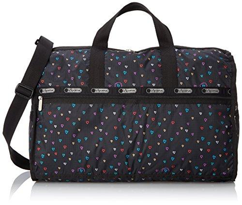 LeSportsac Large Weekender Bag, Love Drops, One (Drop Handbag)