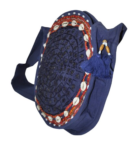 Lalhaveli, Borsa a tracolla donna Multicolore Multicolore 11 By 11 Inches