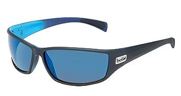 67a1db5514 bollé Python Gafas, Unisex Adulto, Negro (Mat Black/Blue), M ...