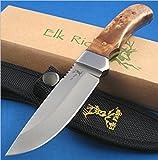 Elk Ridge ER-107 Outdoor Fixed Blade 8-Inch Overall, Outdoor Stuffs