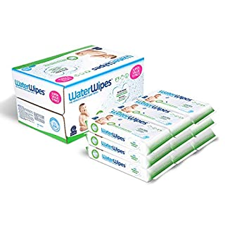 WaterWipes, Sensitive Baby Wipes, Unscented, 9 Packs, 540 Wipes