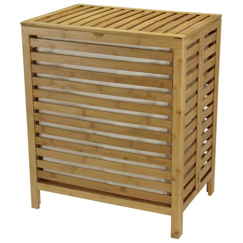 wooden clothes basket - 4