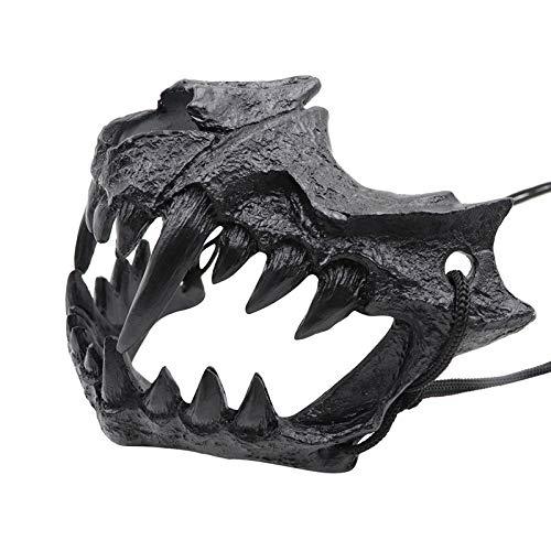EFE Fe Demi-Masque en r/ésine pour Halloween