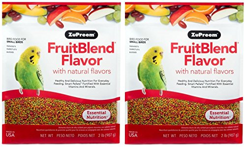 Image of ZUPREEM 230301 Fruitblend Small Keet Food, 2-Pound (2 pack)