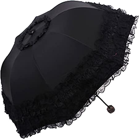 Image result for Honeystore Princess Lace Ultraviolet-Proof Folding Umbrella