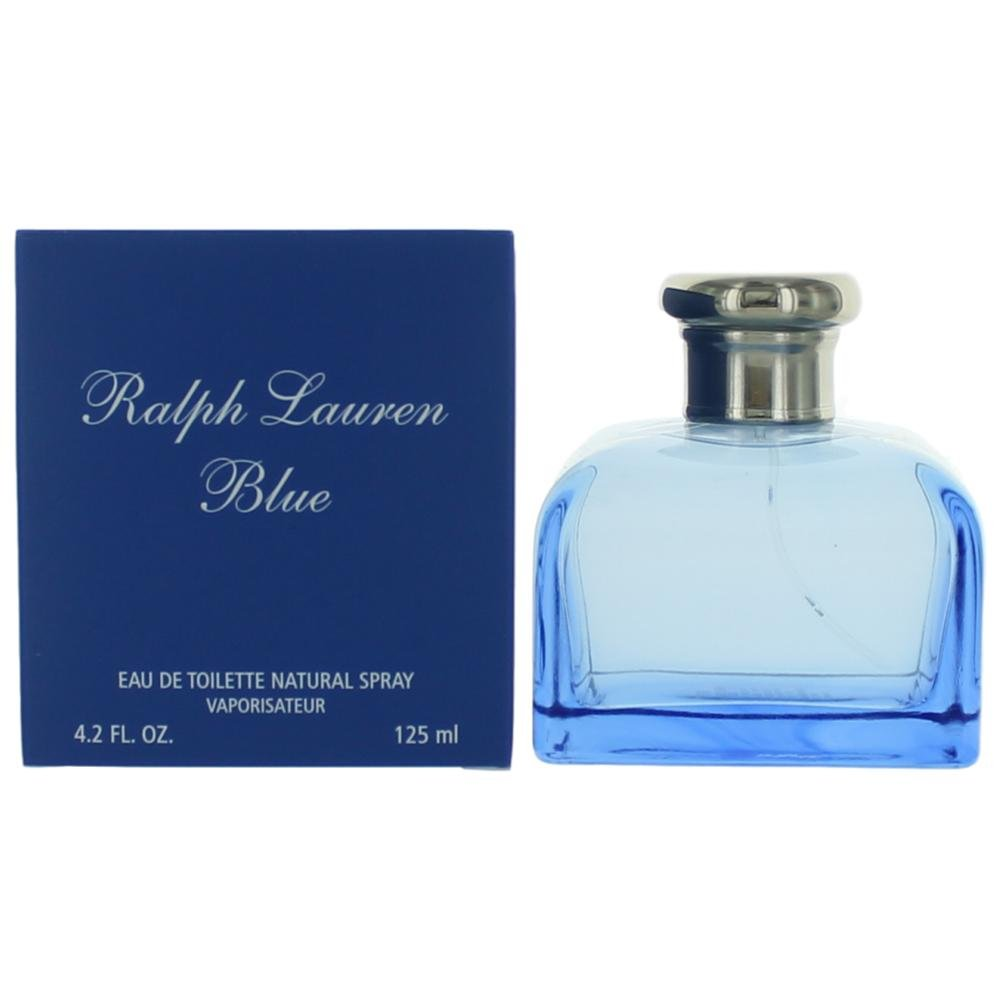Ralph Lauren Blue Perfume by Ralph Lauren for Women. Eau De Toilette Spray 4.2 oz / 125 Ml
