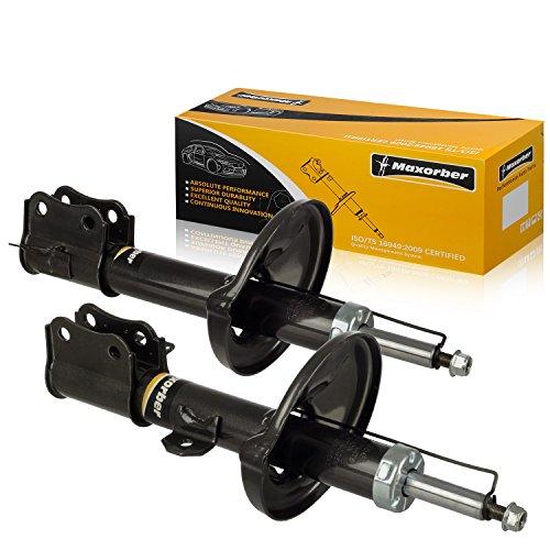 Maxorber Rear Set Shocks Struts Absorber Kit Compatible With 2002 2003 2004 2005 2006 2007 Suzuki Aerio Shock Absorber 333356 333357 312212