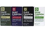 Duke Cannon Men's Bar Soap Variety 4 Pack - Big