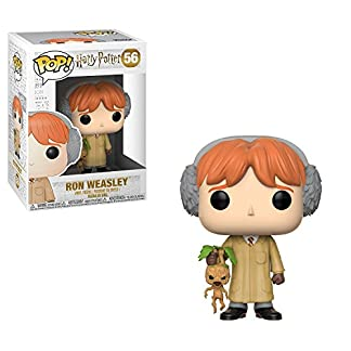 Funko- Harry Potter Ron Herbology Figurine, 29501, Standard