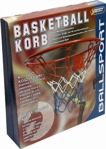 Best, Cesto da basket, Rosso (rot), 45 cm 64033