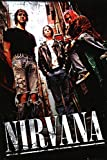 Nirvana - Alley Poster 24 x 36in with Poster Hanger
