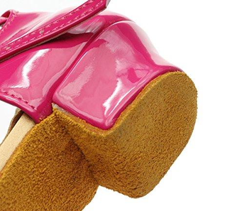 per cm donna EU31 5 tacco paillettes Scarpe ballo Scarpe bambini alte a Little rosa basso ballo Kids Scarpe per 3 da EU31 da ShangYi latino UK12 UK12 da basse Kids bambini con Little wzBgxUqCq