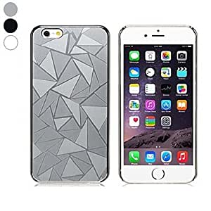 SHOUJIKE High Quality Water Cube Pattern Design PC Hard Case for iPhone 6 (Assorted Colors) , Black