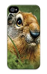 Ground Squirrel Polycarbonate Hard Case Cover for iPhone 4/4S 3D