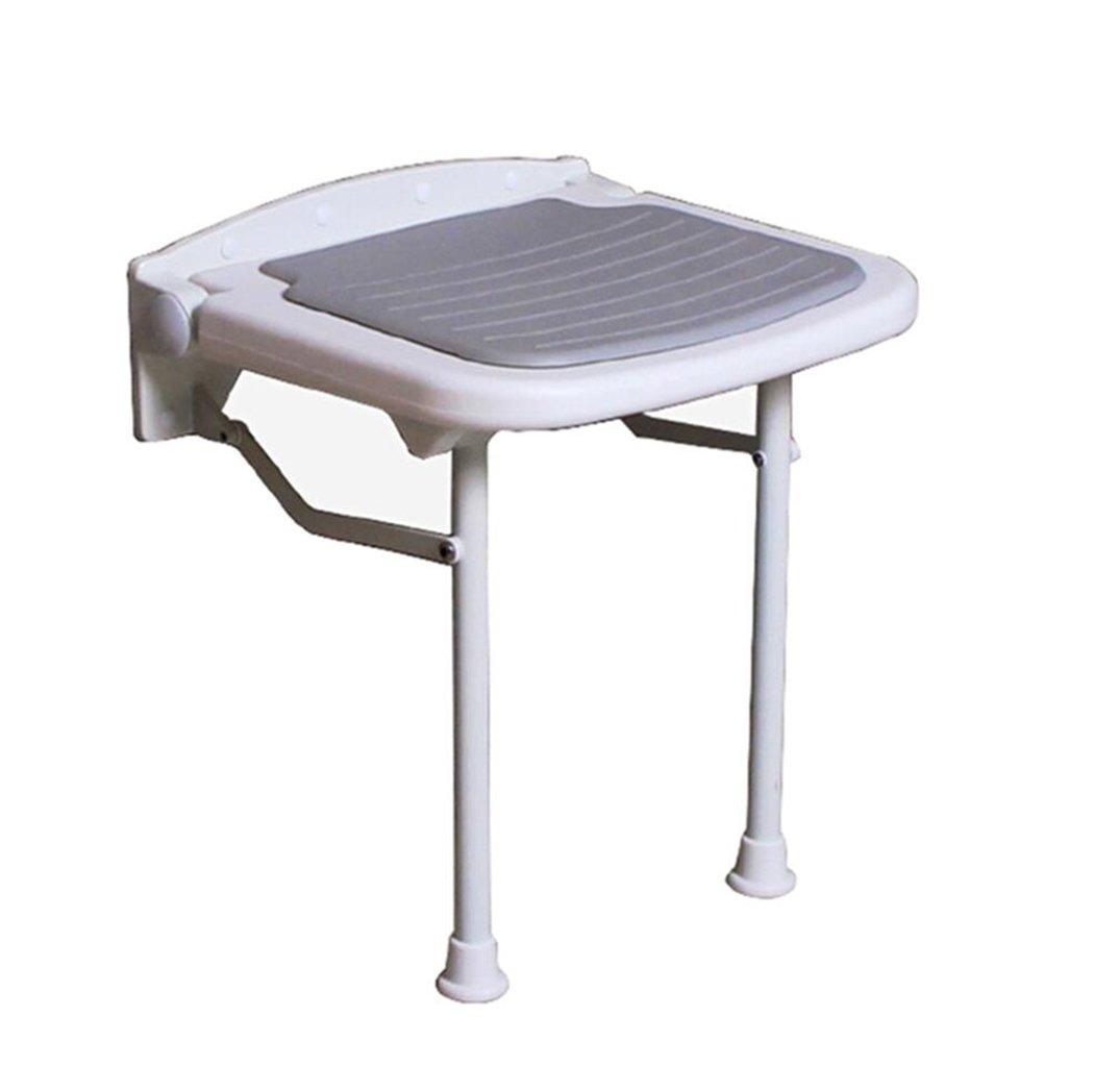 シュウクラブ@ バスルームの壁の椅子/高齢者の女性障害シャワー椅子/折りたたみ式の壁の椅子灰色/バスルームの折り畳み式のスツール/シャワーのスツール/折り畳み式の椅子/靴のスツール/230KGをロードすることができます (サイズ さいず : 38*36.5*47.5cm) B07DW7XQN9   38*36.5*47.5cm