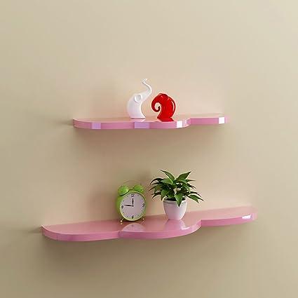 LTJTVFXQ-shelf Dormitorio Creativo Pared de la partición ...