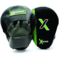 Xpeed (XP 306) Target Focus Punch Pad Curved Fighting Sports Boxing Mitts Training Glove Karate Muay Thai Kick Equipment