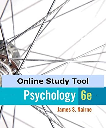Test bank for psychology 5th edition by nairne by a136655232 issuu.