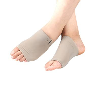 edc08cf82e Amazon.com: Arch Support 1 Pair Gel Sleeve Forefoot Cushion Pad ...